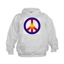 Cool Peace Sign Hoodie
