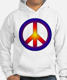 Cool Peace Sign Jumper Hoody