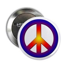 "Cool Peace Sign 2.25"" Button (10 pack)"