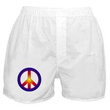 Cool Peace Sign Boxer Shorts