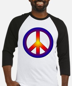 Cool Peace Sign Baseball Jersey