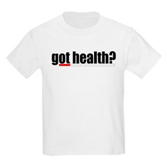 Got Health? Gamer Kids T-Shirt