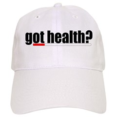 Got Health? Gamer Baseball Cap