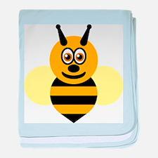 Honey Bee baby blanket