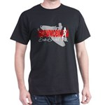 Snowmobiling Sno-Devil Dark T-Shirt