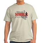 Snowmobiling Sno-Devil Light T-Shirt