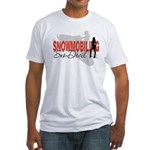 Snowmobiling Sno-Devil Fitted T-Shirt