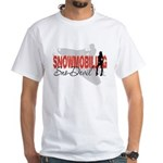 Snowmobiling Sno-Devil White T-Shirt