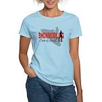 Snowmobiling Sno-Devil Women's Light T-Shirt