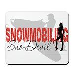 Snowmobiling Sno-Devil Mousepad