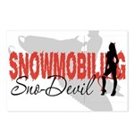 Snowmobiling Sno-Devil Postcards (Package of 8)