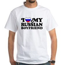 I Love My Russian Boyfriend Shirt