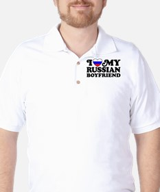 I Love My Russian Boyfriend T-Shirt
