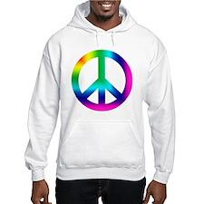 Rainbow Peace Sign Jumper Hoody