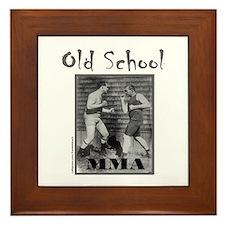 MMA MIXED MARTIAL ARTS Framed Tile