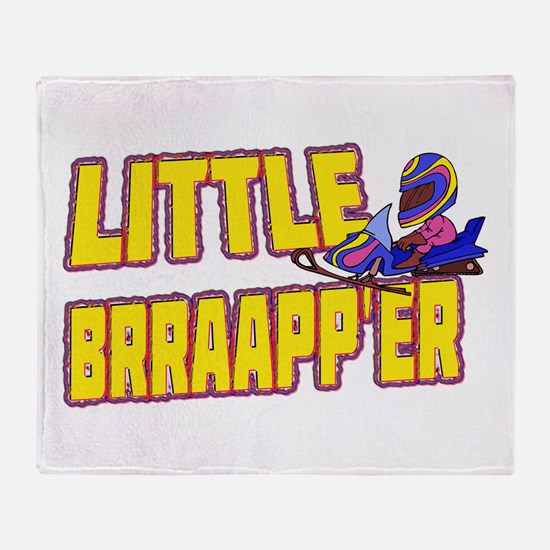 Little Brraapp'er Throw Blanket