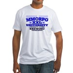 MMORPG U (Brewing Department) Fitted T-Shirt