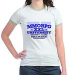 MMORPG U (Brewing Department) Jr. Ringer T-Shirt