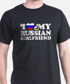 I Love My Russian Girlfriend T-Shirt