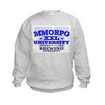 MMORPG U (Brewing Department) Kids Sweatshirt