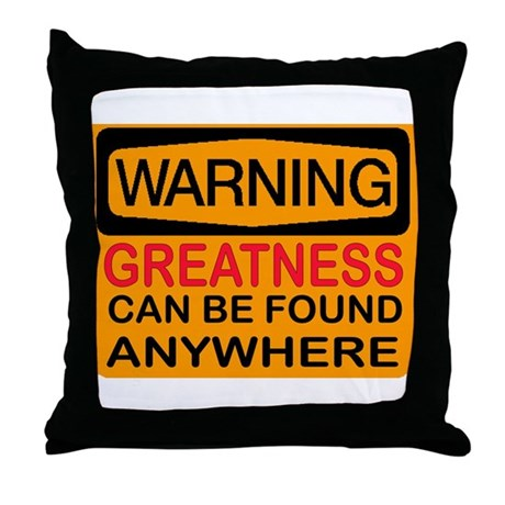 SEARCH FOR IT Throw Pillow