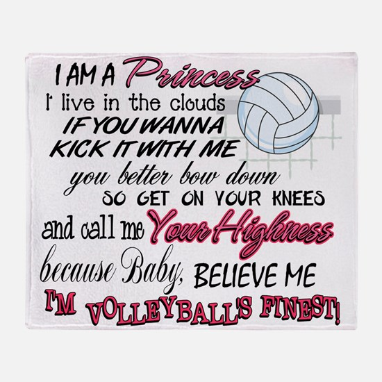 Volleyball's Finest Throw Blanket