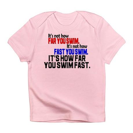 Swim Fast Infant T-Shirt
