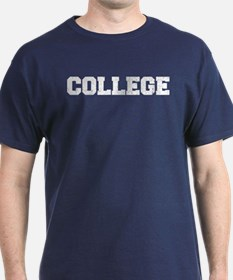 Animal House College Vintage Distressed T-Shirt