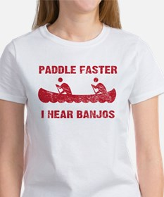Paddle Faster Vintage Women's T-Shirt
