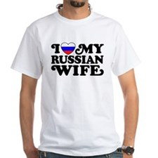 I Love My Russian Wife Shirt