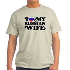 I Love My Russian Wife T-Shirt