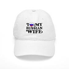 I Love My Russian Wife Baseball Cap