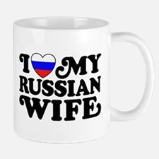 I Love My Russian Wife Mug