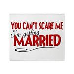 Getting Married Throw Blanket