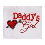 Daddy's Girl Throw Blanket