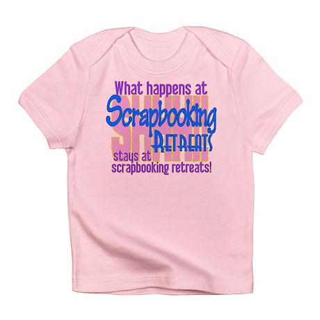 Scrapbooking Retreats Shhh! Infant T-Shirt