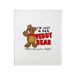 Big Teddy Bear Throw Blanket