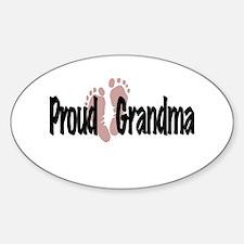 Proud Grandma (Girl) Decal