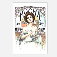 Mucha is my Homeboy Postcards (Package of 8)