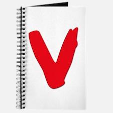 V Symbol Visitors TV Journal