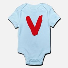 V Symbol Visitors TV Onesie