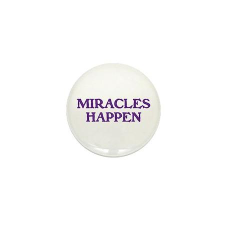 MIRACLES HAPPEN Mini Button (100 pack)