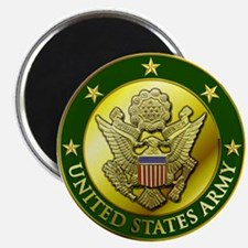 Army Green Logo Magnet