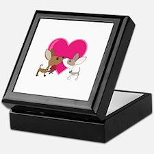 Chihuahua Love Keepsake Box