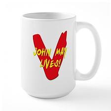 V Visitors Aliens TV Series John May Lives Mug