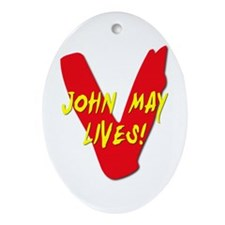 V Visitors Aliens TV Series John May Lives Ornamen