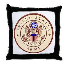 Desert Logo Throw Pillow