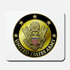Army Black Logo Mousepad