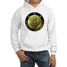 Army Black Logo Hoodie