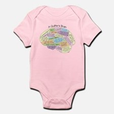 Quilter's Brain Infant Bodysuit